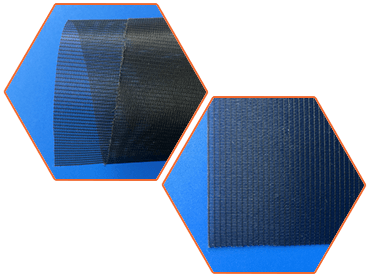 Anti-pollen screen with small mesh size has soft structure.