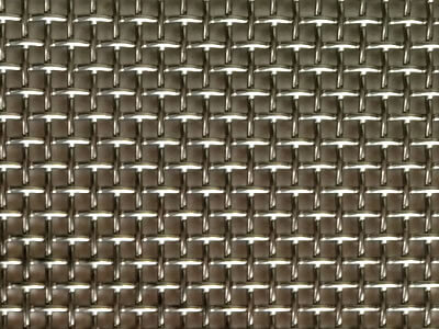 The detail about mesh openings of stainless steel window screen.